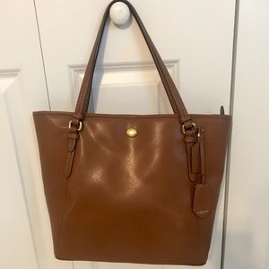 Authentic leather Coach Purse/Tote